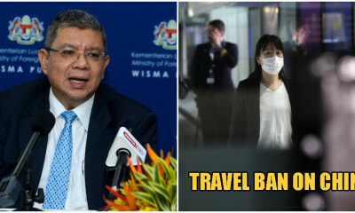 M'sia Officially Imposes Travel Ban For Wuhan Virus, Stops Visas For Chinese Travellers - WORLD OF BUZZ 3