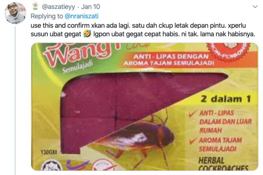 M'sian Girl Lines Up Mothballs to Prevent Cockroaches From Entering Her Room, Netizens Are Entertained - WORLD OF BUZZ 2