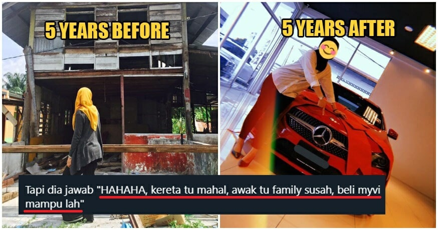 M'sian Woman Shamed By Ex-BF's Family For Being Poor, Proves Them Wrong 5 Years Later - WORLD OF BUZZ 1