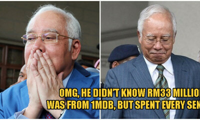 Najib: I Spent Every Sen of RM33 Million, But Didn't Know It Came From 1MDB - WORLD OF BUZZ