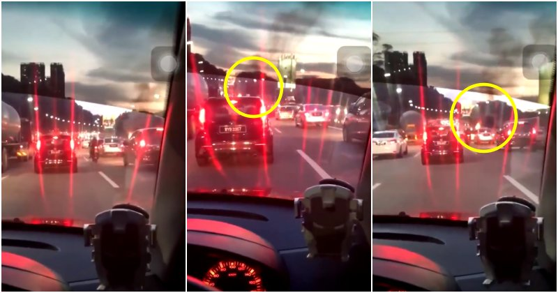 Netizen Gets Angry At Other Road Users For Their Penchant To Become Bystanders And Contribute To Massive Traffic Jam - WORLD OF BUZZ 2