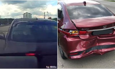 Netizen Shares Experience Getting Rear Ended By A Car, Gets Blamed For 'Stopping' On The Road Instead - WORLD OF BUZZ 5