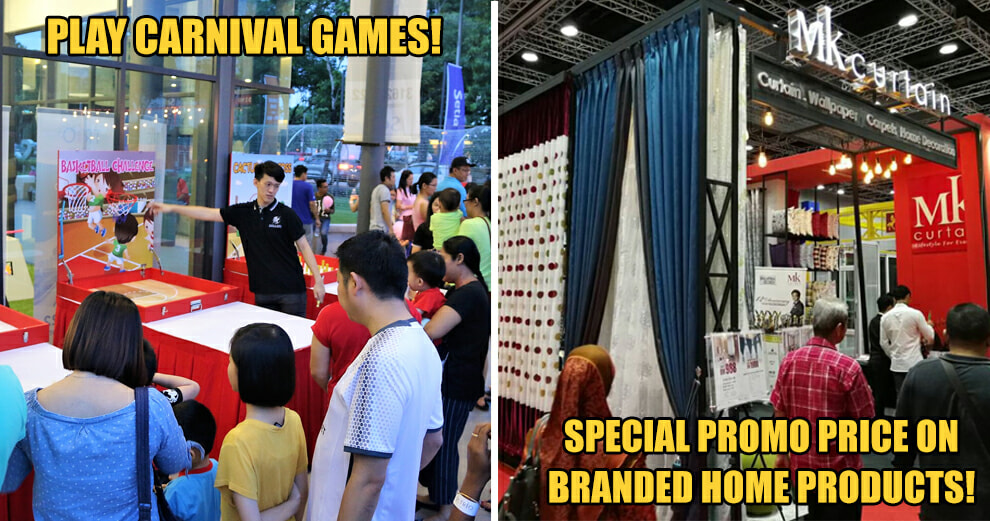 No Weekend Plans? Play Carnival Games, Enjoy Special Promo Priced Home Products & More At This Qube Market! - World Of Buzz