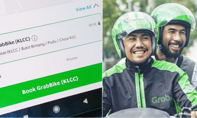OMG! Grab Just Rolled Out Its GrabBike Service In Kuala Lumpur!? - WORLD OF BUZZ