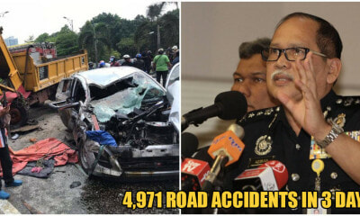 PDRM: 4,971 Road Accidents & 42 Deaths in First 3 DAYS of Op Selamat 16 - WORLD OF BUZZ 3