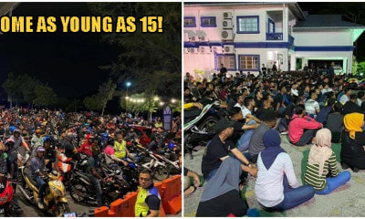 PDRM Arrested Over 1,000 Penang Mat Rempits During New Year's Eve Celebrations - WORLD OF BUZZ