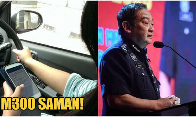 Pdrm Will Saman Rm300 To Drivers Texting On The Road Starting 18Th January! - World Of Buzz 2