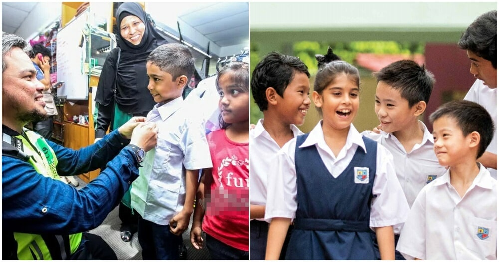 Poor M'sian Mum Can't Afford To Buy Kids School Uniforms, Tells Them She Can't Find Their Size Instead - WORLD OF BUZZ 4