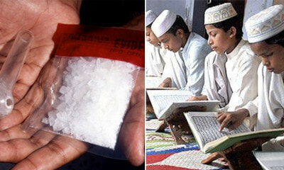Ustaz Sold Drugs To His Students So They Could Study & Recite the Quran Better - WORLD OF BUZZ