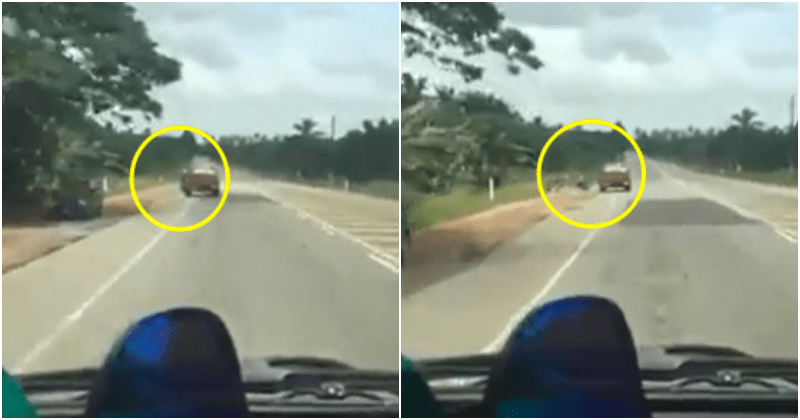 Road User Witness Driver Microsleeping and Hits A Motorcycle, Netizens Insist That They Should've Honked Instead Of Recording - WORLD OF BUZZ 7