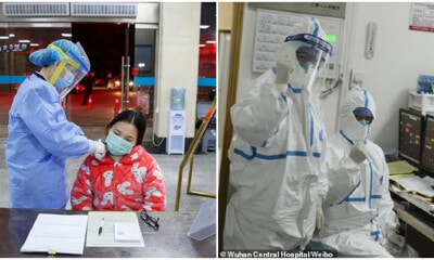 Selfless Nurse Who Was Cured From Wuhan Virus Goes Back To Treat Infected Patients - WORLD OF BUZZ 5
