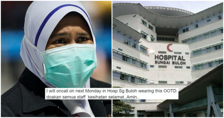 Sg Buloh Hospital Staff Ask M'sians To Pray For Their Safety As They Treat Infected Wuhan Patients - WORLD OF BUZZ 6