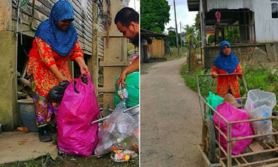 Single M'sian Mother Raises Kids By Collecting Rubbish, Now They're All Successful - WORLD OF BUZZ 3