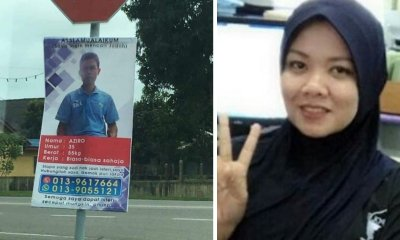 Terengganu Man Who Put Up Banner Looking For A Wife Finds Soulmate In Less Than A Month - WORLD OF BUZZ