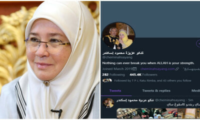The Queen Now Use Jawi On Twitter - WORLD OF BUZZ 1