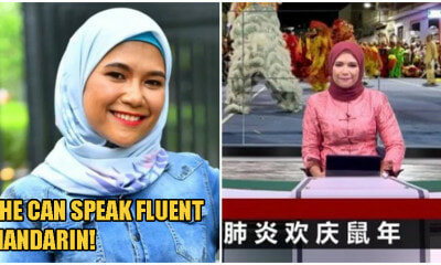 This Woman Is TV2's First Ever Malay Anchor Working On It's Mandarin News Programme! - WORLD OF BUZZ 3