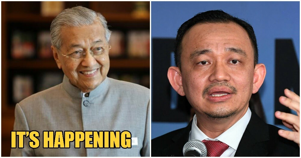 Tun M Is Officially The Acting Education Minister - WORLD OF BUZZ 3