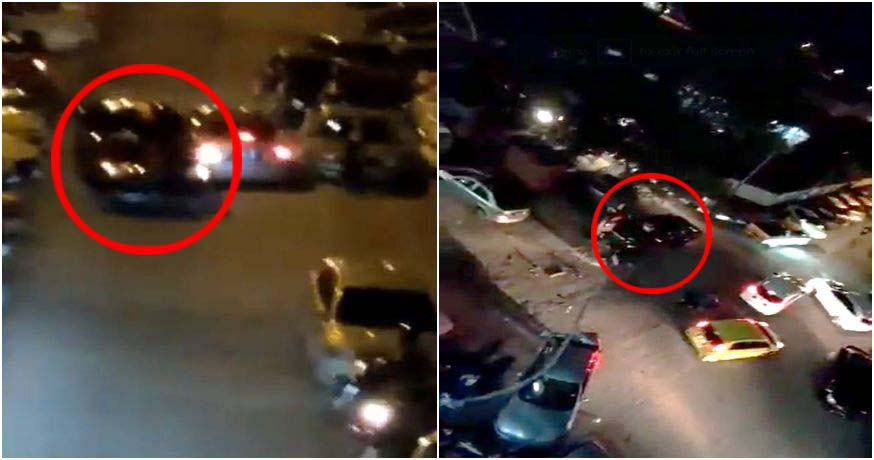 Video: M'sian Drunk Driver Rams Into 11 Cars in Crowded Parking Lot - WORLD OF BUZZ