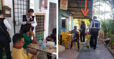 Viral Photos Allegedly Show Strict Enforcement of Smoking Ban Today, Smokers Greeted with Saman! - WORLD OF BUZZ