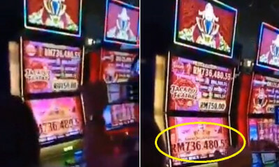 Viral Video Shows Lucky Person Winning Over RM730,000 At Genting Highlands Slot Machine During CNY - WORLD OF BUZZ 1