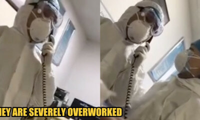 Watch: A Doctor in a Wuhan Hospital Broke Down Because There're Too Many Patients Lying Around - WORLD OF BUZZ 1
