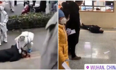 Watch: Remaining Wuhan Citizens Allegedly Collapsing On The Streets After Outbreak Of Wuhan Virus - WORLD OF BUZZ 2