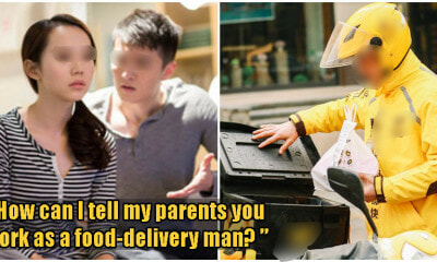 Woman Dumps BF Saying His Food Delivery Job Got No Future, But He Earns DOUBLE Her Salary - WORLD OF BUZZ