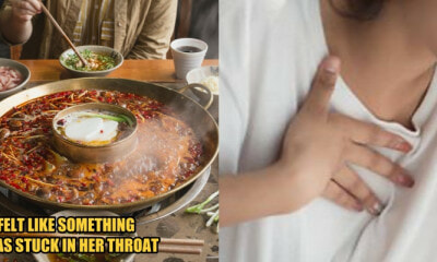 Woman Feels Pain in Her Throat & Chest After Having Hotpot, Coughs Up Blood The Next Day - WORLD OF BUZZ 5