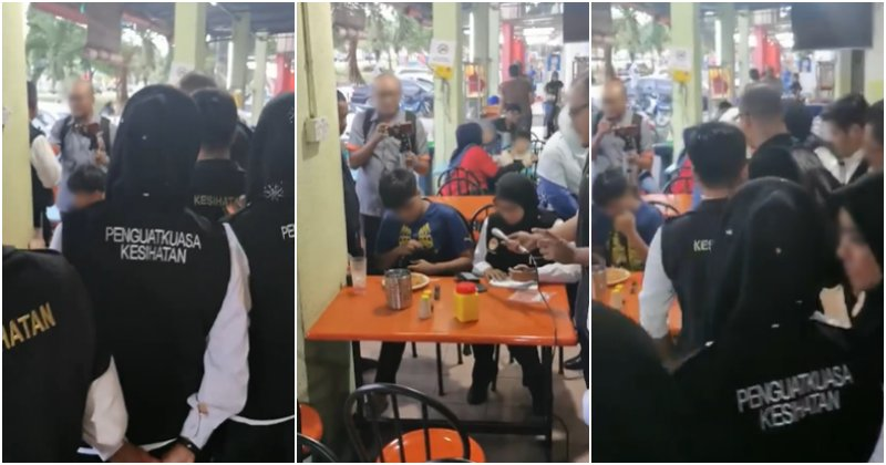 Young Smoker Gets The Shock Of His Life When A Battalion Of Officials Surround Him To Issue Summons - WORLD OF BUZZ 3