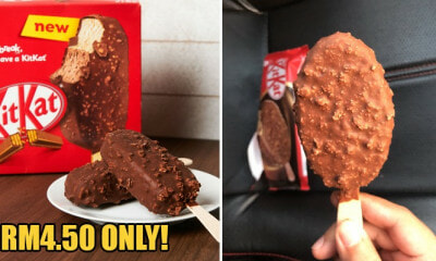 Yummy KitKat Ice Cream Sticks Are Now Available in Malaysia & We're Drooling! - WORLD OF BUZZ 4