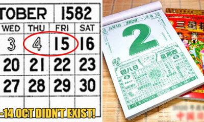 10 Full Days Actually Went Missing from the Calendar in 1582 Because of a Slight Miscalculation - WORLD OF BUZZ