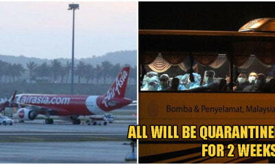 133 M'sians Trapped In Wuhan Have Finally Arrived Safely Home, Will Undergo 14 Day Quarantine - WORLD OF BUZZ