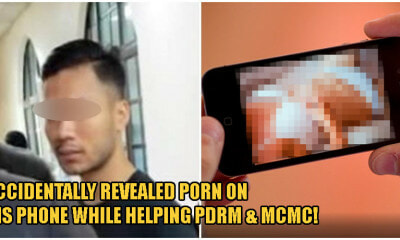 25yo Johor Man Arrested For Having 4 Porn Photos On His Phone, Was Assisting PDRM & MCMC Previously - WORLD OF BUZZ 2