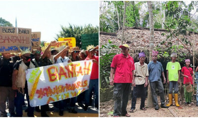 300 Orang Asli March Against the Degazetting of the Kuala Langat North Forest Reserve - WORLD OF BUZZ 4
