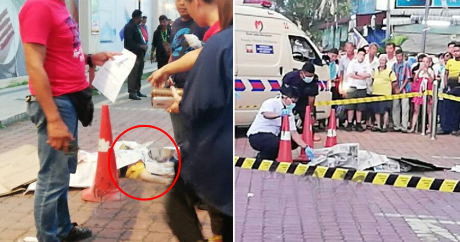 54yo M'sian Woman Allegedly Jumped to Her Death From Taiping Shopping Mall - WORLD OF BUZZ