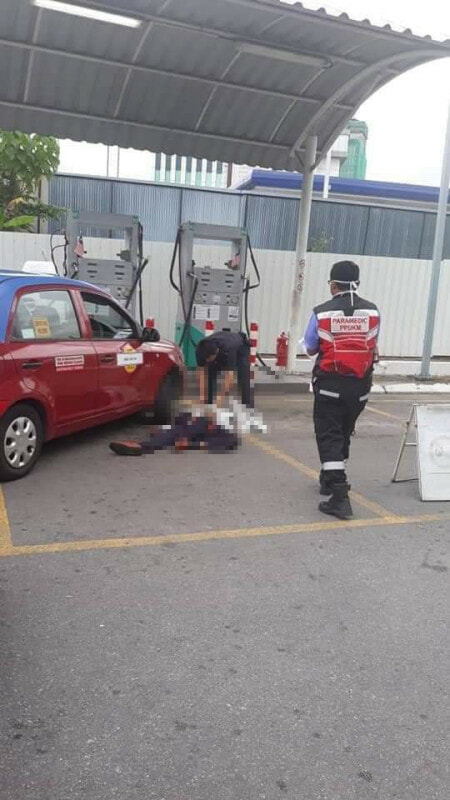 61yo Cheras Taxi Man Beats Friend To Death After He Cuts His Line While Pumping Gas - WORLD OF BUZZ