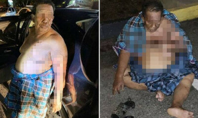 67yo M'sian at Mosque Suffers Severe Burns After Masked Man Splashes Kerosene & Sets Him On Fire - WORLD OF BUZZ 4