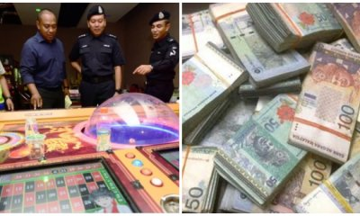 Sarawakian Police Busts An Ilegal Online Gambling Outlet That Earns RM600k A Month - WORLD OF BUZZ