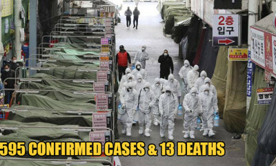 South Korea Records 334 More Covid-19 Cases, 1,595 Infected & 13 Reported Deaths - WORLD OF BUZZ