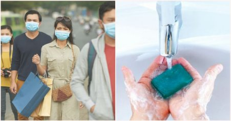 Face Masks & Gloves Ineffective Against Coronavirus, Experts Say Washing Hands Consistently Is Best Prevention Method - WORLD OF BUZZ
