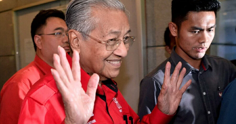 BREAKING: Tun Dr Mahathir Mohamad Has Just Resigned As - WORLD OF BUZZ