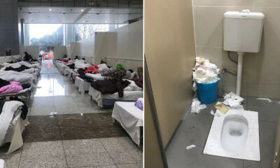 Patients Moved to Exhibition Centre Living in Horrible Conditions - WORLD OF BUZZ
