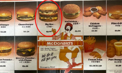 A Big Mac For ONLY RM3? What McD's Menu Looked Like In The 80's & What This Means For M'sians Today - WORLD OF BUZZ 13
