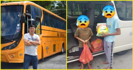 A Man With and A Yellow Bus Hopes To Uplift Poverty Stricken Children - WORLD OF BUZZ 4