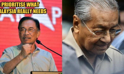 Anwar Ibrahim Takes a Step Back To Support Tun Mahathir To Be Prime Minister - WORLD OF BUZZ 1