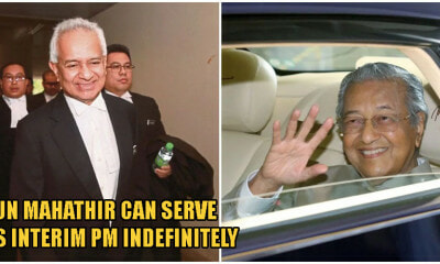 Attorney-General: Tun M Can Stay As Interim PM Indefinitely & Choose Cabinet Members At His Discretion - WORLD OF BUZZ 3