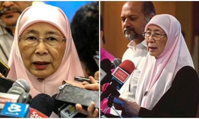 BREAKING: Wan Azizah Will Be Malaysia's First Female Prime Minister In History, Replacing Tun M - WORLD OF BUZZ