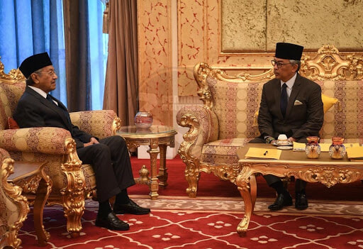 BREAKING: YDP Agong Appoints Tun M As Interim Prime Minister After Accepting His Resignation - WORLD OF BUZZ 1