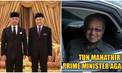 BREAKING: YDP Agong Appoints Tun M As Interim Prime Minister After Accepting His Resignation - WORLD OF BUZZ 2
