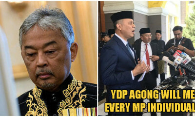 BREAKING: YDP Agong Will Interview All 222 MPs To Determine Majority In Dewan Rakyat In Unprecedented Move - WORLD OF BUZZ 1